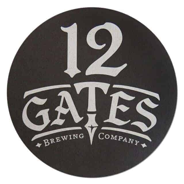 12 Gates Brewing Company Drip Mat