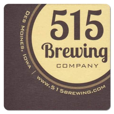 515 Brewing Company Beer Mat