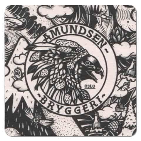 Amundsen Bryggeri Beer Mat