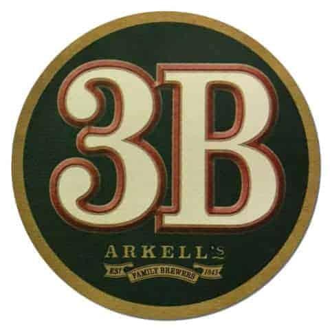 Arkells 3B Beer Mat