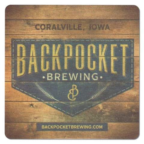 Backpocket Brewing Beer Mat