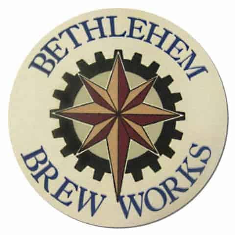 Bethlehem Brew Works Beer Mat