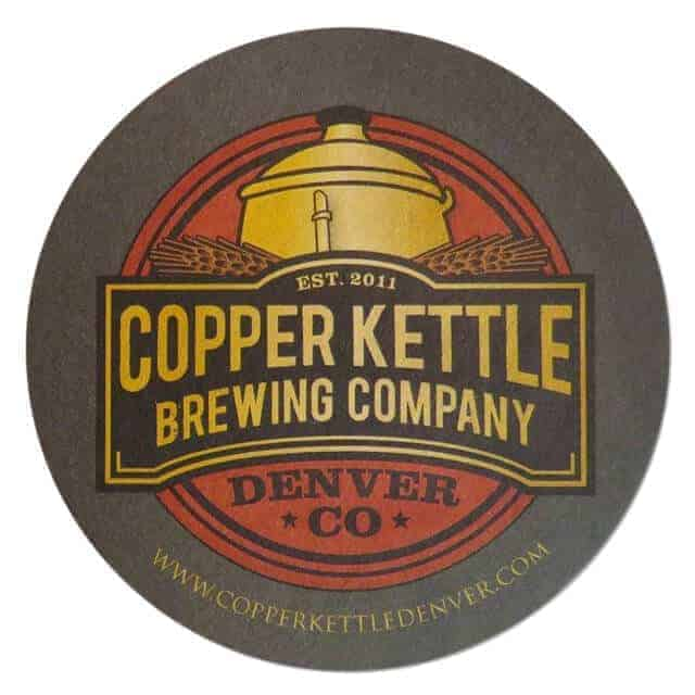 Copper Kettle Brewing Company Coaster