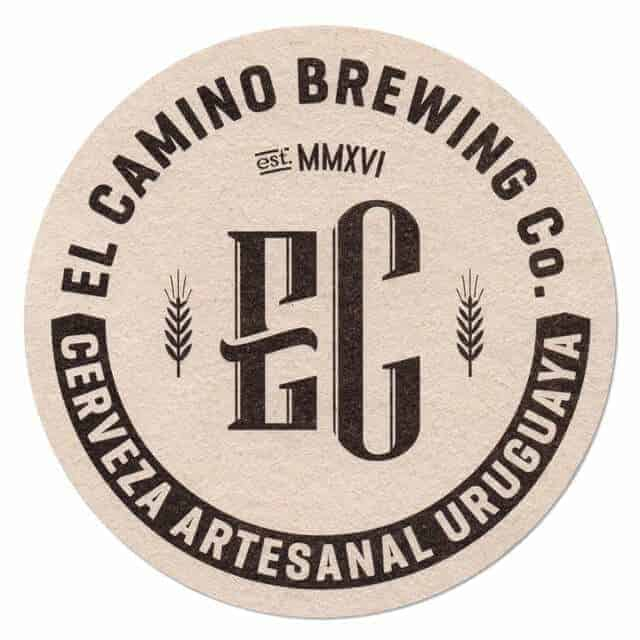 El Camino Brewing Coaster