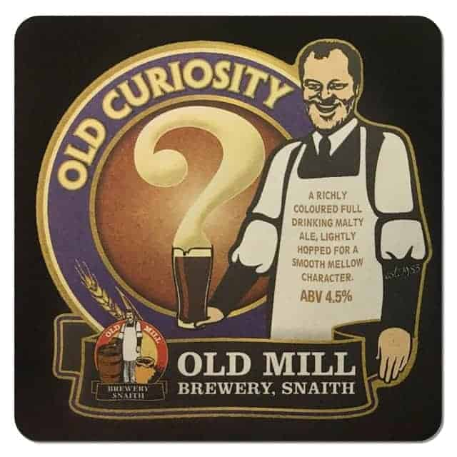 Old Mill Brewery Beer Mat