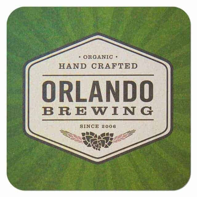 Orlando Brewing Coaster
