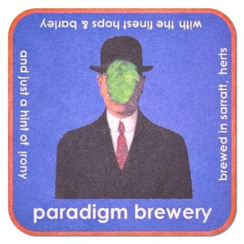 Paradigm Brewery Beer Mat