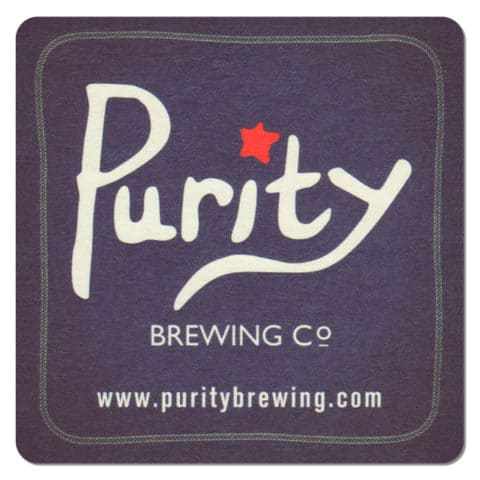Purity Brewing Co Beer Mat