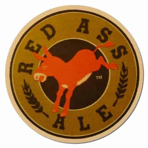 Red Ass Ale Beer Mat