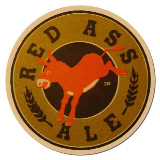 Red Ass Ale Beer Mat