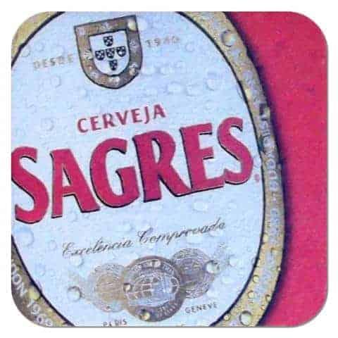 Sagres Beer Mat