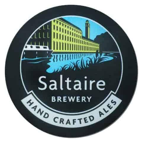 Saltaire Brewery Beer Mat