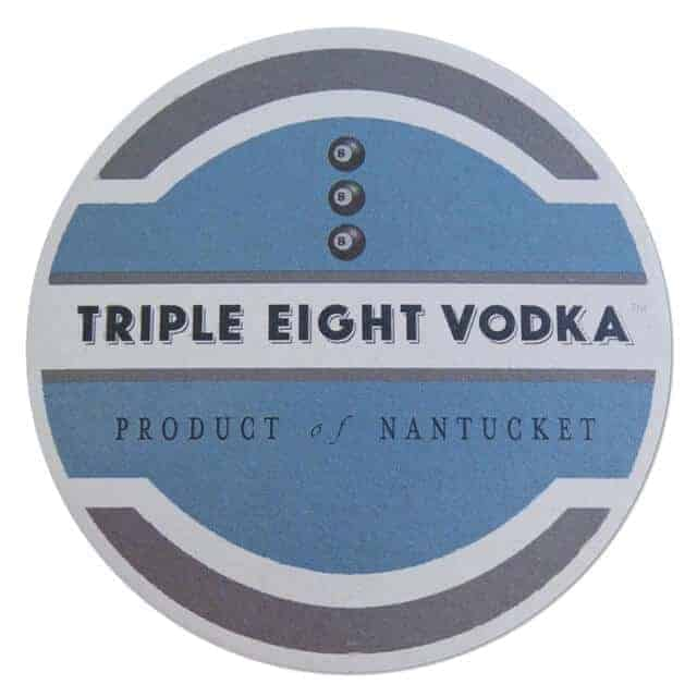 Triple Eight Vodka Coaster