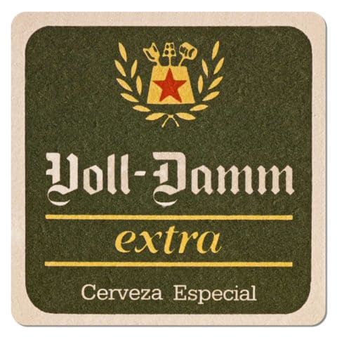 Voll Damm Extra Beer Mat