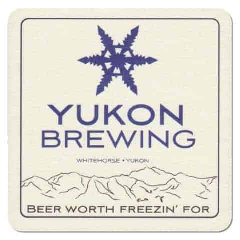 Yukon Brewing Beer Mat