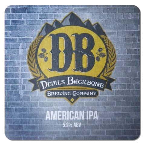 Devils Backbone Beer Mat