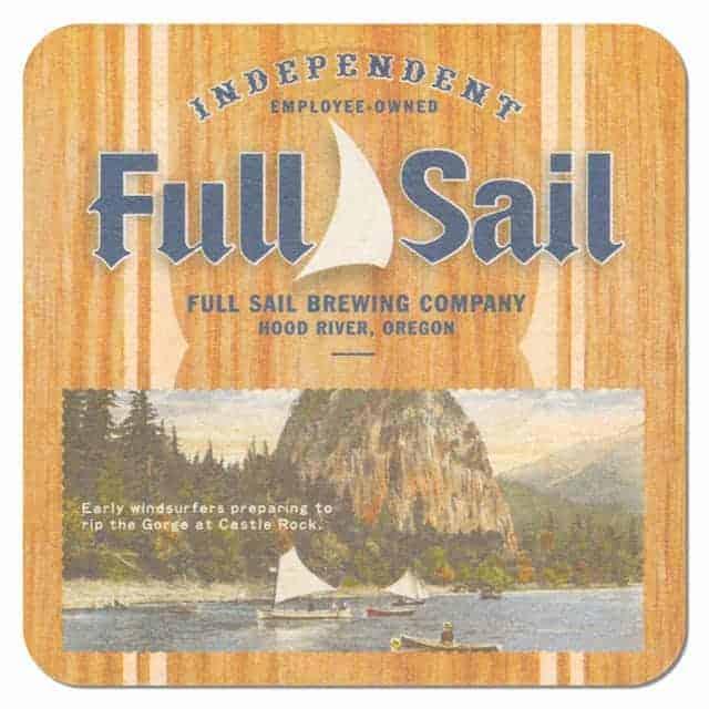 Full Sail Brewing Beer Mat