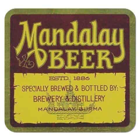 Mandalay Beer Drip Mat