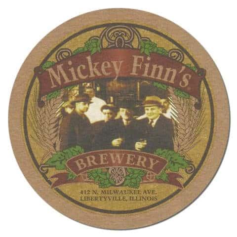Mickey Finns Brewery Beer Mat