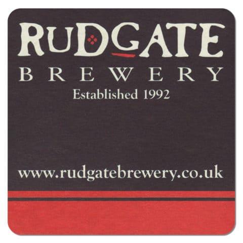 Rudgate Brewery Beer Mat