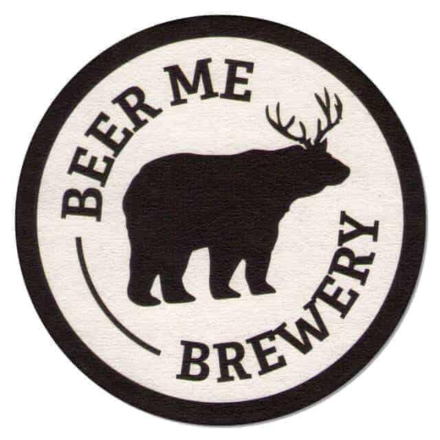 Beer Me Brewery Coaster