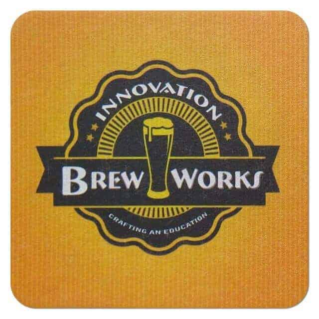 Innovation Brew Works Coaster
