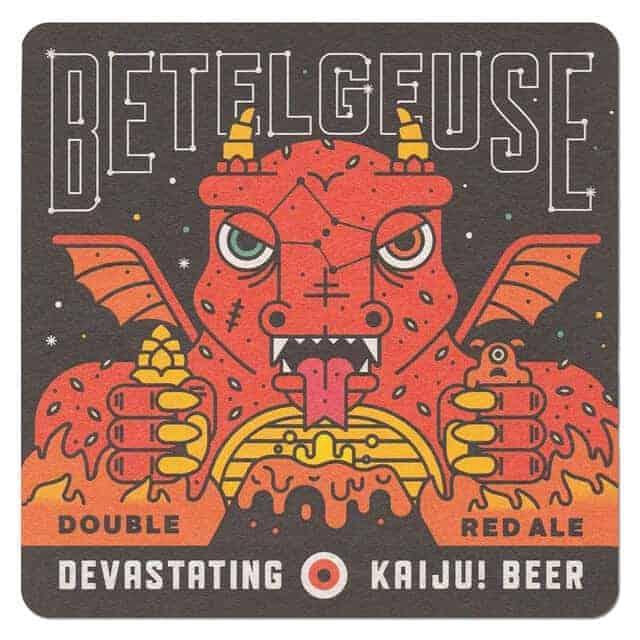 Kaiju Beer-Betelgeuse Drip Mat