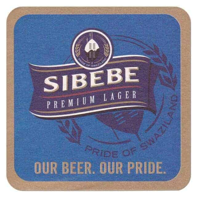 Sibebe Beer Coaster