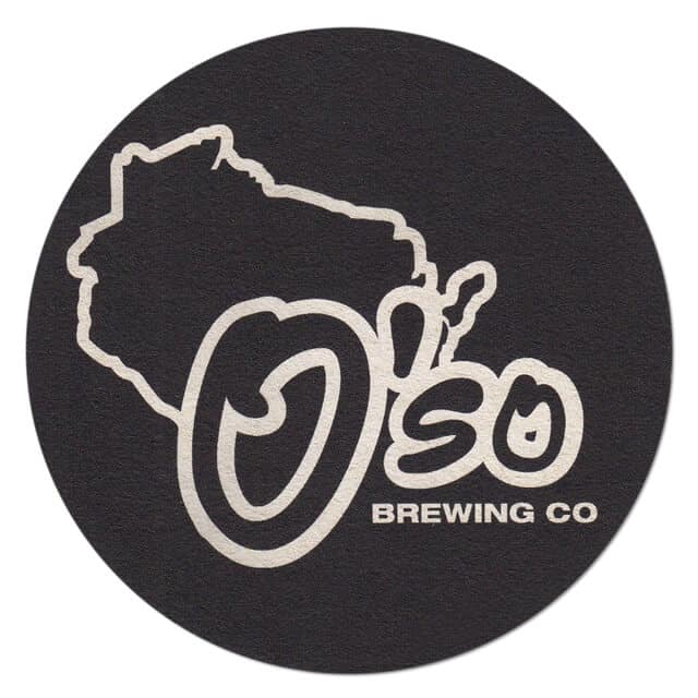 O'so Brewing Coaster