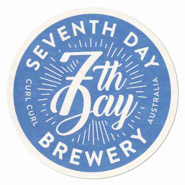 7th Day Brewery Coaster