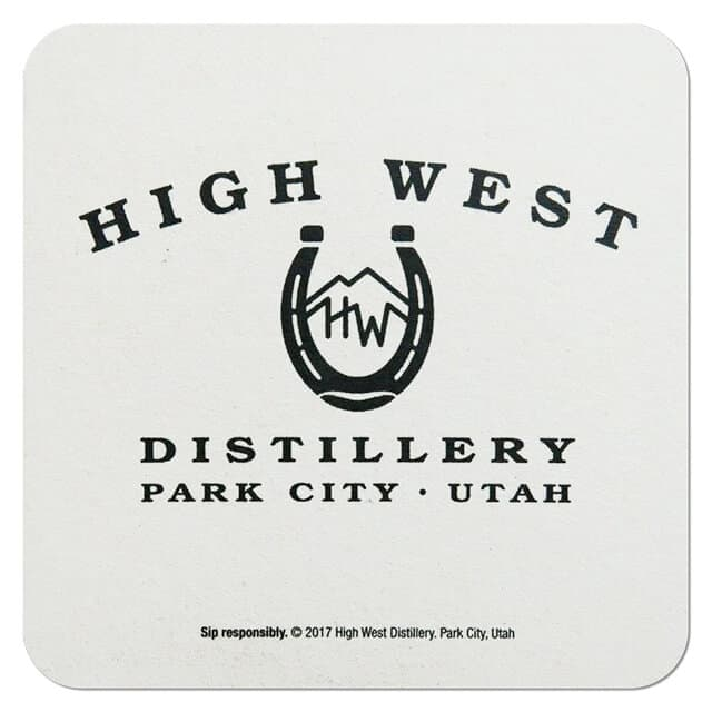 High West Distillery Drip Mat