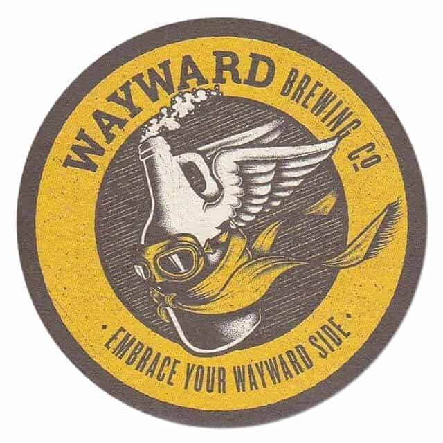 Wayward Brewing Co Coaster