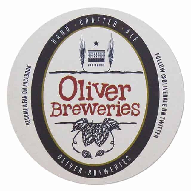 Oliver Brewing Co Drip Mat