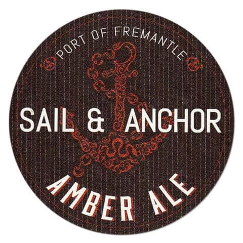 Sail and Anchor Amber Ale Drip Mat