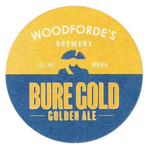 Woodfordes Brewery - Bure Gold Coaster