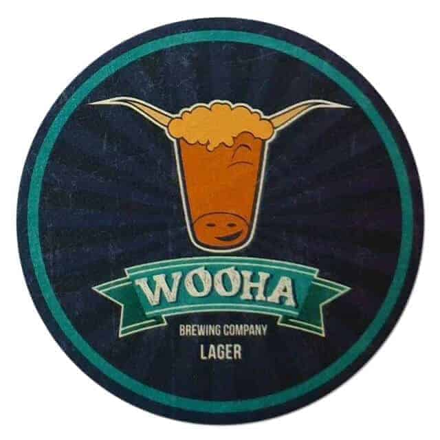 Woohaa Brewing Coaster