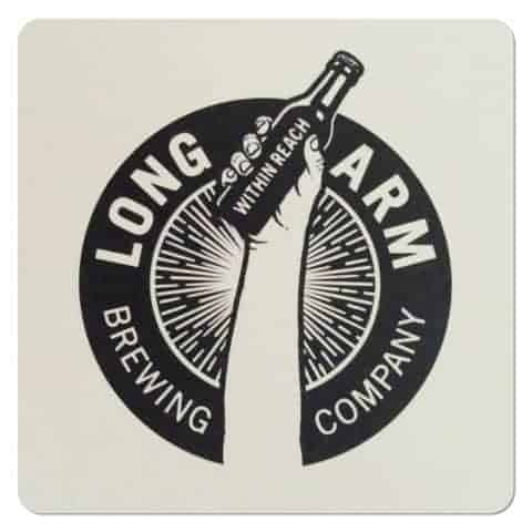 Long Arm Brewing Coaster