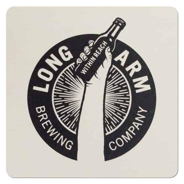 Long Arm Brewing Coaster