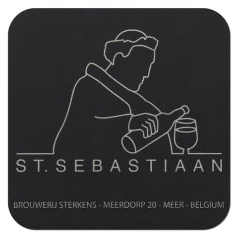 Brouwerij Sterkens - St. Sebastiaan Drip Mat