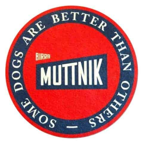 Birra Muttnik Coaster
