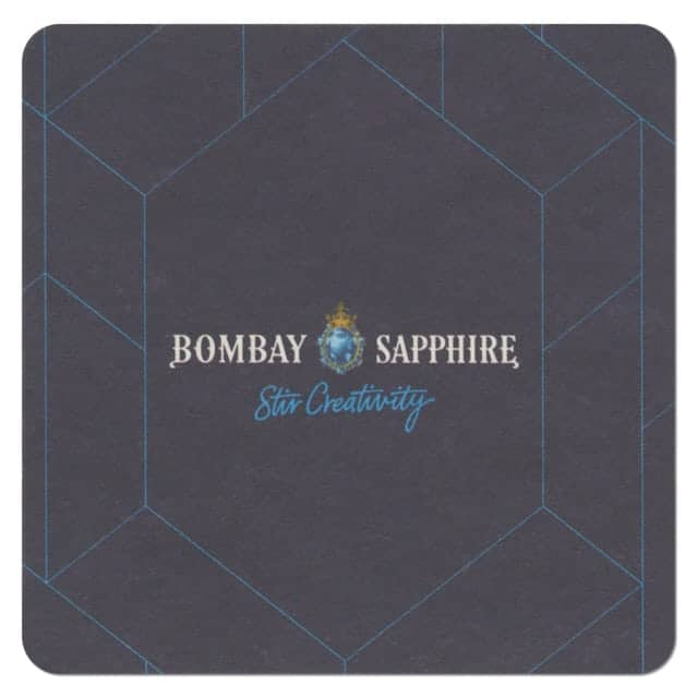 Bombay Sapphire Gin Coaster