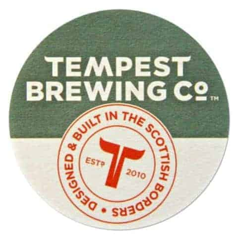 Tempest Brewing Beer Mat
