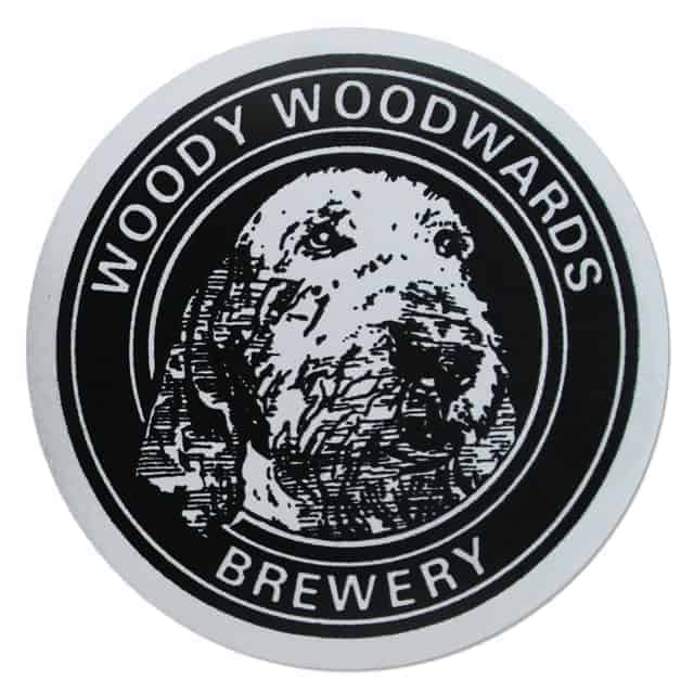 Woody Woodwards Brewery Coaster