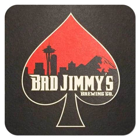 Bad Jimmy Brewing Co Beer Mat