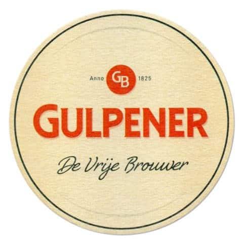 De Vrije Brouwer - Gulpener Beer Mat