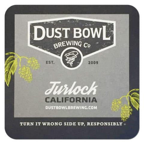 Dust Bowl Brewing Beer Mat