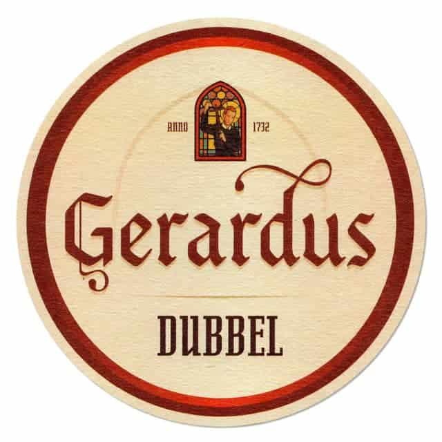 Gerardus Dubbel Beer Mat