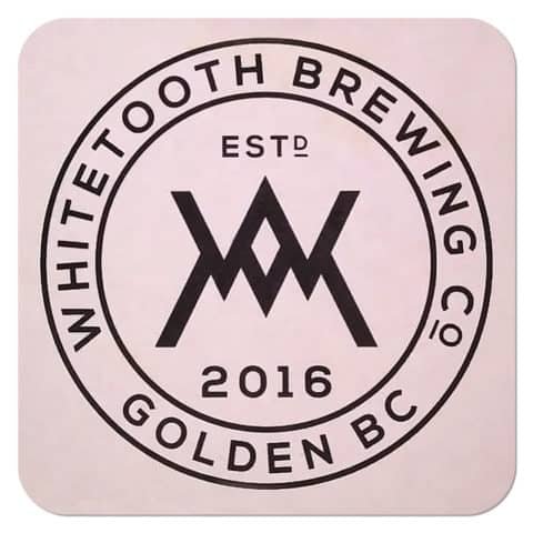 White Tooth Brewing Beer Mat