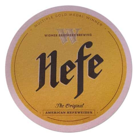 Widmer Brothers Brewing - Hefe Beer Mat
