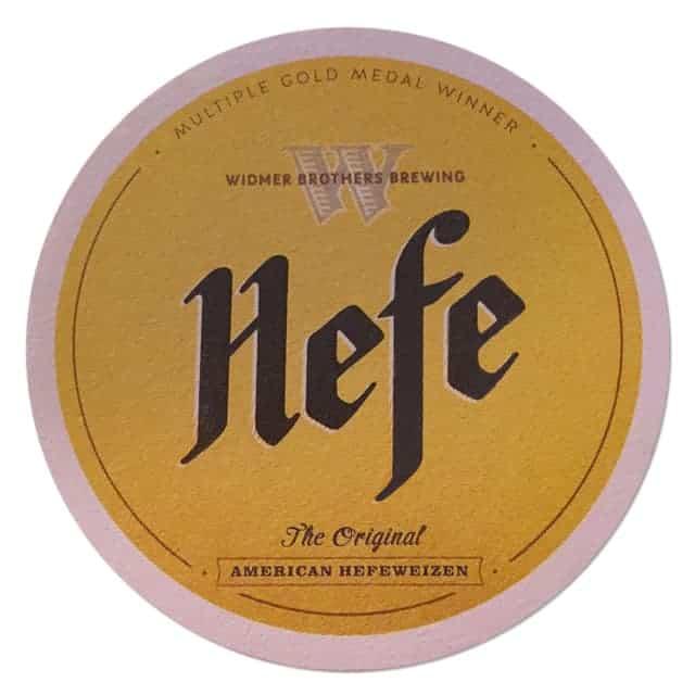Widmer Brothers Brewing - Hefe Beer Mat